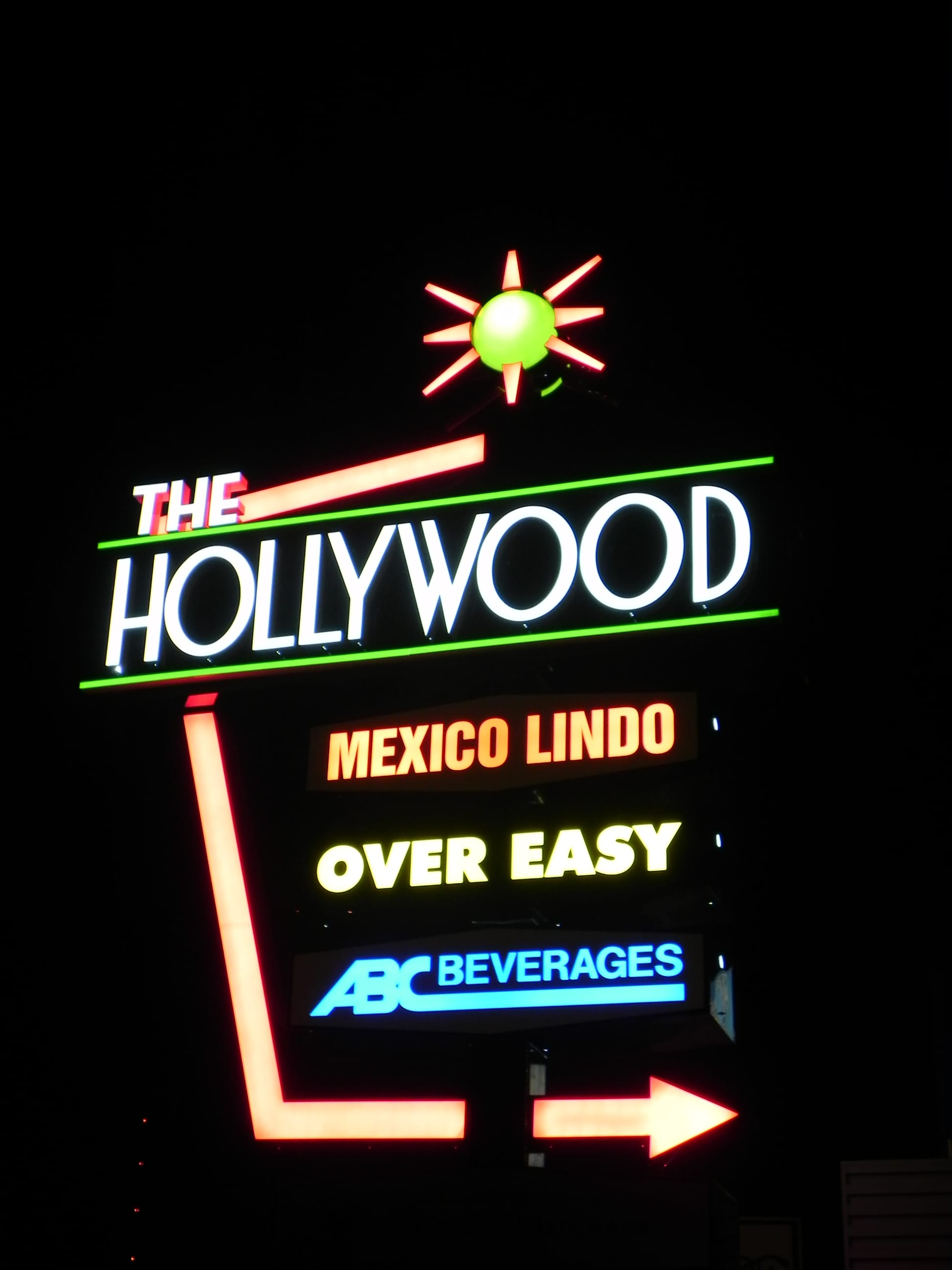 Hollywood (night)