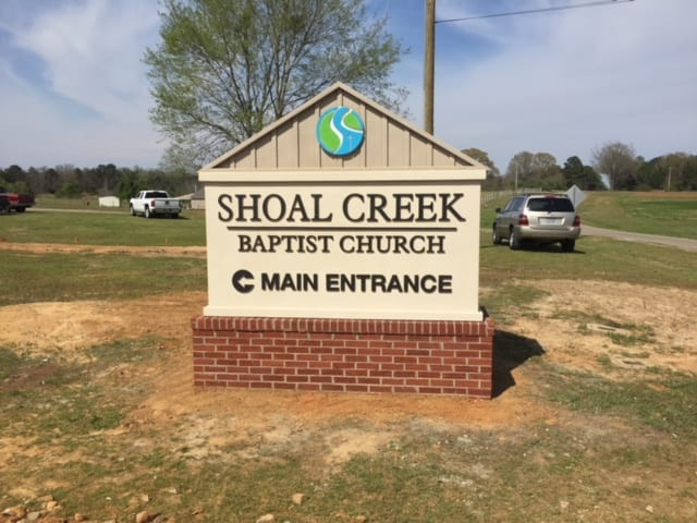 Shoal Creek Baptist Church, Deatsville AL