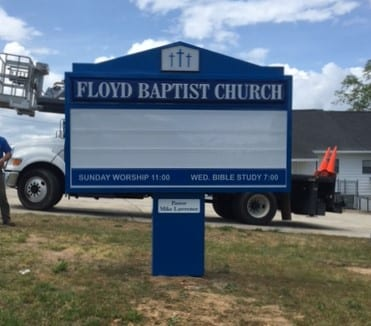 Floyd Baptist Church Verbena, AL